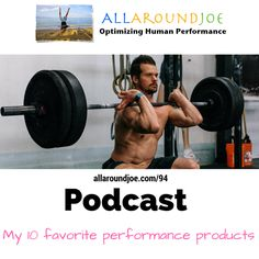 These are my favorite performance products for getting better at CrossFit, fitness, bodybuilding, or any other fitness endeavors.