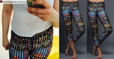 Buy Lena Dunham's Emoji Print Leggings, here!