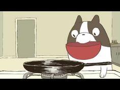 오믈렛 해주는 강아지 - YouTube