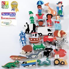 Come Alive Phonics wooden characters