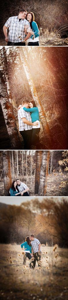Engagement session in Huntsville Utah