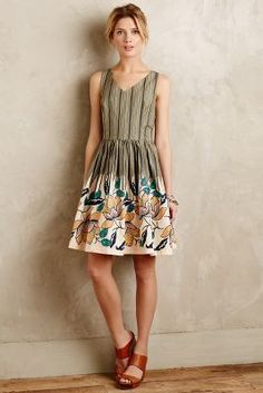 Maeve Lucia Dress #anthrofave