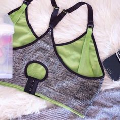 @hotmilklingerie Vitality Yoga Bra is available  in two colours as black/green or blue/purple and features a racer back. Perfect for gentle exercise or hanging out in your activewear. #hotmilk #hotmilklingerie #maternitybuyer #nursinglingerie #yogabra