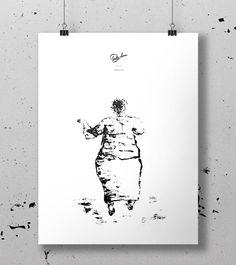 Lonley Dance - plakat print