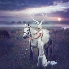 This set of photos is inspiring, russian artist, Margarita Kareva