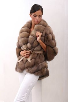 """#Elegance is not standing out, but being #remembered"".  #Barguzinsky Russian Sable #Fur, #SOJUZPUSHNINA #Quality, #MadeinItaly  http://www.jewelsandfurs.com/en/shop/furs/ef002134  #new #collection #fall #special #occasion #furfashion #furlove #fourrure #mode #мех #мода #козина #pelliccia #blană #luxus #style #amazing #outfit #shopping #jewelsandfurs #beautiful #model #photooftheday"