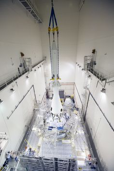 Launch Abort System Installed for Orion Flight Test