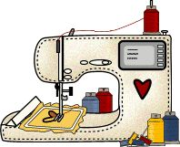 broderie machine - (page - passion-h Free Machine Embroidery Designs, Applique Designs, Embroidery Applique, Sewing Labels, Sewing Cards, Mini Gifs, Gifs Cute, School Vector, Gifs Disney