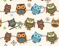 Love Owl's for a baby girls room.