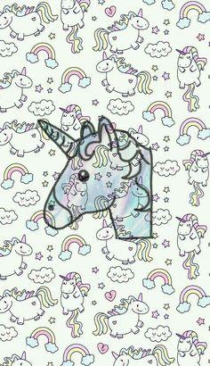 Wallpaper Unicorn Tumblr!!! Papel de parede unicórnio fofo!! Segue aí q tem muitooo mais!!! #Wallpaper #Tumblr #Unicorn -Wallpaper Tumblr