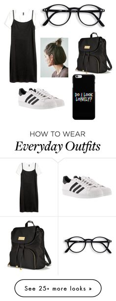 """""""School Outfit Idea #2"""" by elzie99 on Polyvore featuring Victoria's Secret and adidas"""