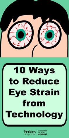 Eye Care – 10 Ways to Reduce Eye Strain from Technology Eye Facts, Self Treatment, Vision Eye, Vital Signs, Eyes Problems, Eye Strain, Reading Groups, Anatomy And Physiology, How To Stay Healthy