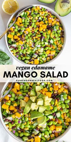 Whole Foods, Whole Food Recipes, Cooking Recipes, Kid Recipes, Healthy Salad Recipes, Vegetarian Recipes, Vegetarian Kids, Vegan Recipes Summer, Mango Recipes For Dinner