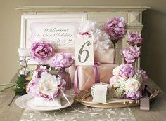 Sweety Romantic Peony wedding theme