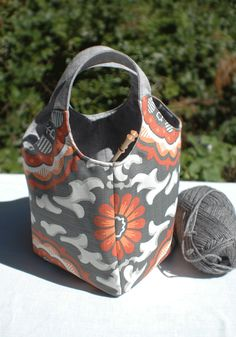 Ms Money Penny Coral Gables Knitting Project Tote or by The Thrifty Needle