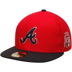 Men s Atlanta Braves New Era Red Black 2015 MLB All-Star Game Home Run c3e7d93a21be
