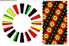 K213 - friendship-bracelets.net Strings: 32 Colors: 4