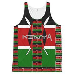 Kenya! I love Kenya XOXO Hakuna Matata #kenya My #love #XOXO #Hakuna #Matata #Colors #Women's #Kenya #All-Over #Print #Singlets & #Tank #Tops
