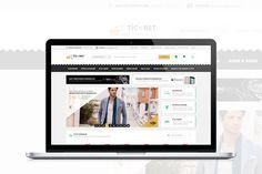 E-ticaret Sitesi Arayüz Tasarımı – PSD