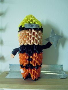 Naruto 3D origami
