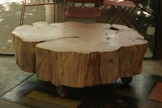Monterey Cypress Coffee Table by Brad Wilson of www.tantalizingtables.com