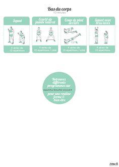Programme Full body avec élastique : programme qui sollicite tout le corps avec pour seul matériel un élastique.