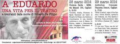 A EDUARDO,UNA VITA PER IL TEATRO – CAGLIARI – 28-29 MARZO 2014