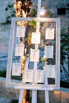 italian herb seating chart  Love in Salento » Les Amis Photo Wedding…