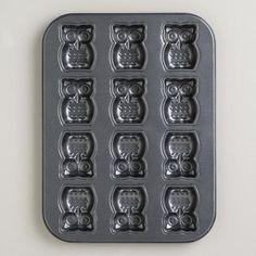 Nonstick Owl Cakelet Pan at Cost Plus World Market >> #WorldMarket Kitchen Tools and Storage, Kitchen Decor, Tips
