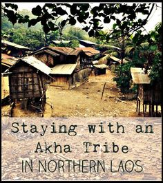 A truly authentic experience staying with an 'Akha Tribe' in the region of Phongsali, Northern Laos.
