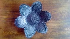 Ceramic Lace and Doily Inspired Handmade Dish by SilverMirth, $35.00