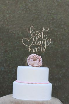 Great Cake Topper Wedding Cake Topper Happily Ever After Cake