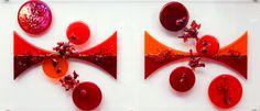 Wall hung object 'Venus': 120 x 50 x 3 cm (bullseye glass) Bullseye Glass, Venus, Glass Art, Christmas Ornaments, Holiday Decor, Wall, Design, Home Decor, Decoration Home