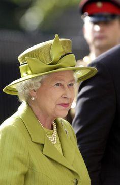 Queen Elizabeth, 2004. Very beautiful picture for the Queen Mother.