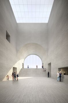 Plate-forme pôle muséal by Etat de Vaud, Barozzi Veiga & FHV Architectes. Visualization nightnurse images.