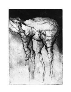 Monster | Drypoint