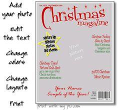 Magazine cover templates vector   Printables   Pinterest ...