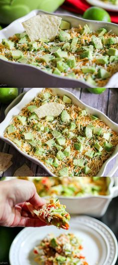 This delicious twist on seven layer dip takes it to another level! Not your normal seven layer dip !