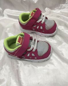 0831684e9f3d72 NIKE Fusion Run 2 Pink Athletic Sneakers Toddler Girls Shoe Size 5c  fashion   clothing  shoes  accessories  babytoddlerclothing  babyshoes (ebay link)