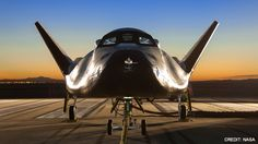 Looking to develop the first commercial spacecraft to bring US astronauts to the International Space Station, Sierra Nevada Corporation begins flight tests of its winged Dream Chaser.