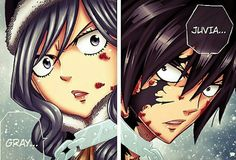 OMG i wonder wat will happen to juvia and gray if they fi8.But i have a feeling that they will find a way to get through it.