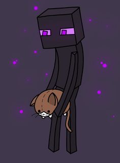Enderman and the Mittens Doll by Enderman-Is-So-Cute.deviantart.com on @deviantART