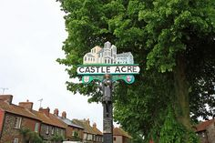 Castle Acre, Norfolk Town Names, English Village, Signs, Norfolk, Great Britain, Acre, Countryside, Castle, Childhood
