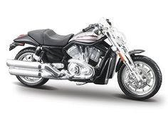 Harley Davidson Street Rod 2006 [Kit] in Silver (1:18 scale by Maisto 39021-SR)