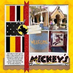Mickey's House - MouseScrappers.com