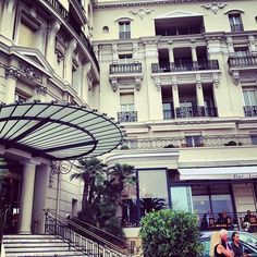 #Casino #palms #trees #people #terrace #hotel #flora #Monaco by negatio from #Montecarlo #Monaco
