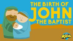 It's Bible Time! Learn about the birth of John the Baptist. Sunday School Activities, Sunday School Lessons, Sunday School Crafts, Lessons For Kids, Bible Lessons, Bible Stories For Kids, Bible Story Crafts, Bible Crafts For Kids, New Testament Bible