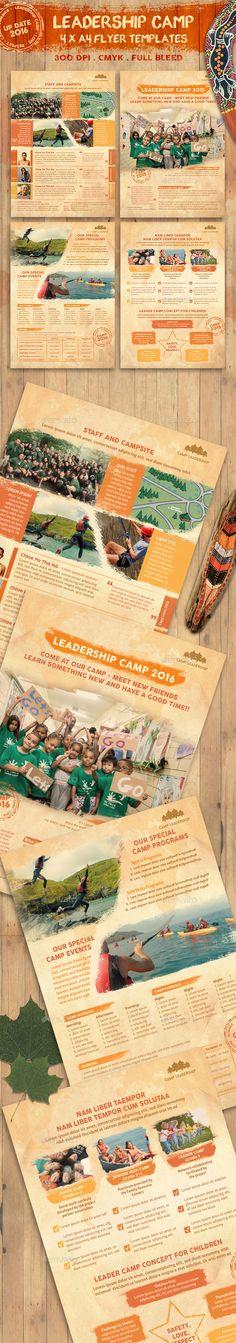 Summer Sport Camp Flyer Flyer template, Template and Camping - camp flyer template