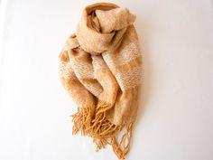 ウールの草木染めストール | ハンドメイド、手作り作品の通販 minne(ミンネ)