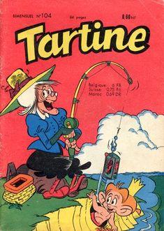 Tartine Un voyage monotone Art Illustration Vintage, Vintage Drawing, Vintage Artwork, Illustrations, Vintage Paintings, Cartoon Art Styles, Cartoon Drawings, Art Drawings, Old Comics